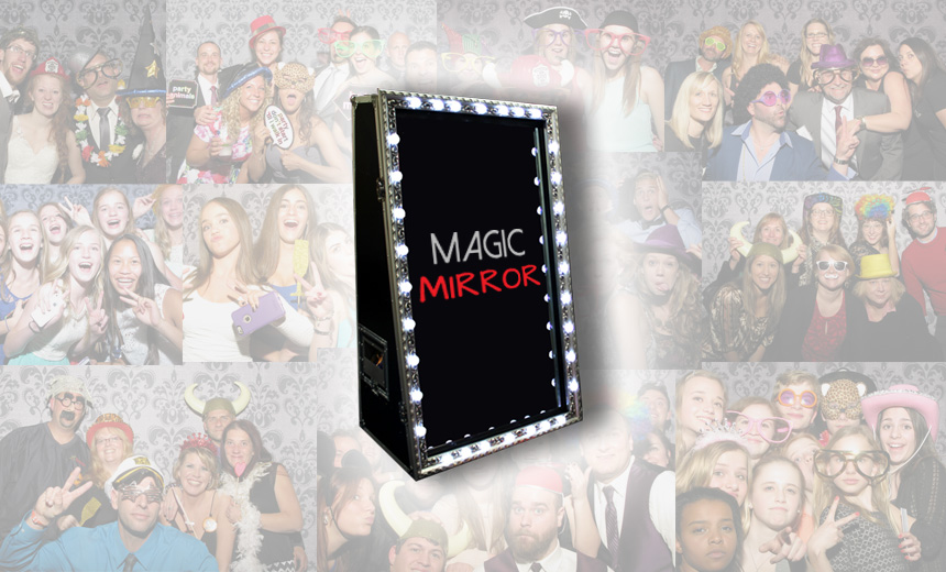 Magic Mirror Hire for Weddings and Parties in Cork